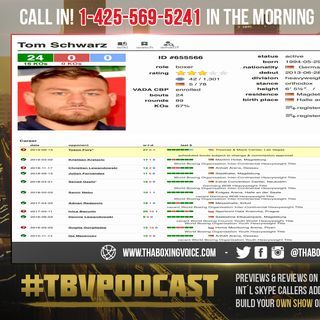 ☎️Tyson Fury vs Tom Schwarz🤯Good Opponent For Tyson🤦🏼♂️Says Ben Davison🤮