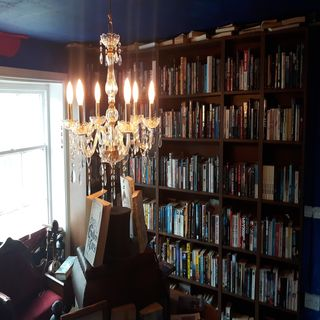 Barrister's book chambers - 50,000 books and counting