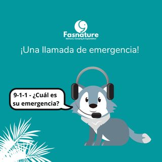 Una llamada de emergencia