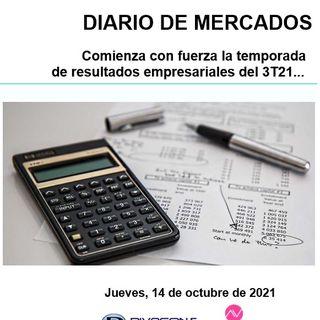 DIARIO DE MERCADOS Jueves 14 Oct