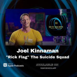 Byte Joel Kinnaman On The Suicide Squad