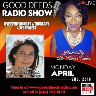 Lily Sanders Speaker Coach Cohost Author of Truth to Triumph shares on GD