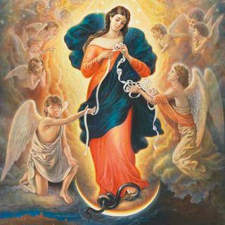 Santo Rosario a Maria che scioglie i nodi