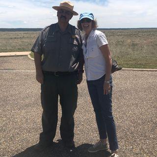 Fort Union Artist-in-Residence - Melissa Weinman and Lorenzo Vigil on Big Blend Radio
