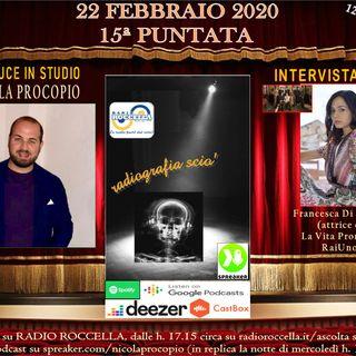 Radiografia Scio' - N.15 del 22-02-2020