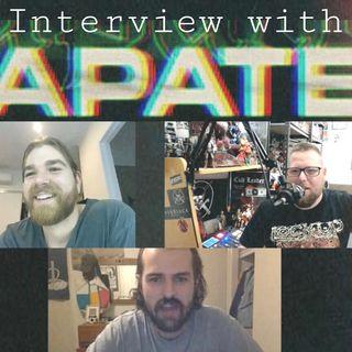 Zakk and Caleb from APATE talk 'Rage' EP