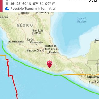 Breaking News 7.5 Quake Strikes Mexico