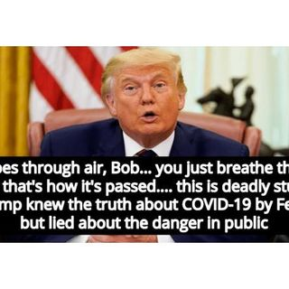 Recordings prove Donald Trump knew about coronavirus and lied to American people