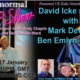 Mark Devlin and Ben Emlyn Jones on The Paranormal Peep Show podcast, Nov 2018