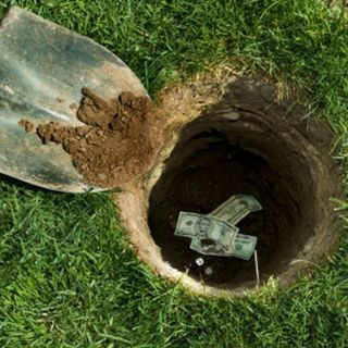 We're In A Hole.......