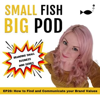 EP26: How to Find and Communicate your Brand Values
