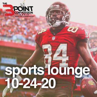 The 3 Point Conversion Sports Lounge- Antonio Brown Is Back, NBA Propose Dec. 25 Start, Big Ten Has Advantage(?), MLB World Series