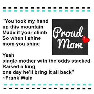 Proud Mom Moment