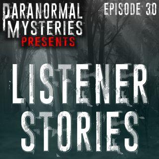 Listener Stories: Sleep Paralysis, Shadow People & Other Oddities