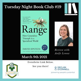 Tuesday Night Book Club #19 - Range - Reviewed by Aoife Lenox (EP203)