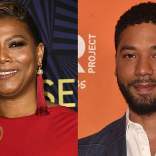 Dana Owens sticks by Jussie Smollett's