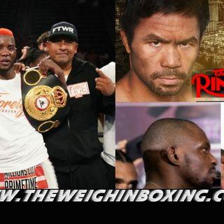 Chris Colbert wins again| Manny Pacquiao vs Errol Spence for Ring Magazine belt Aug 21
