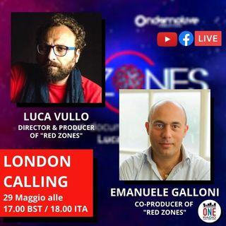 Red Zones: il nuovo documentario sul Covid-19 di Luca Vullo in collaborazione con Videoplugger