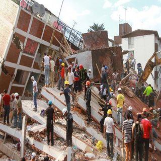 Comienzan trabajos de demolición de edificios dañados: Edgar Tungüí