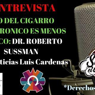 DR. Roberto Sussman USO DEL CIGARRO ELECTRONICO ES MENOS TOXICO (Entrevista MVS) VAPEO