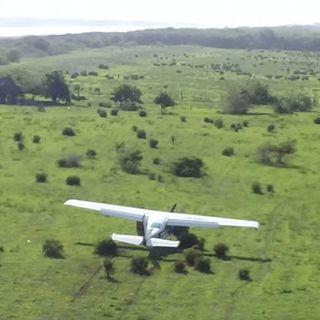Asalto a avioneta deja un muerto y dos heridos