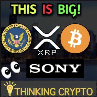 XRP Holders vs SEC - Sony Bitcoin Patent - MicroStrategy Buys BTC - China Crypto Ban - FDIC Crypto