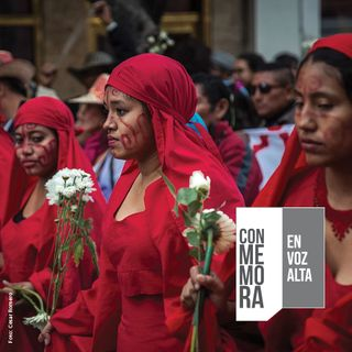 Conmemora en Voz Alta - Masacre de Bahía Portete. Mujeres Wayúu en la mira