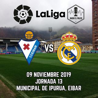 Eibar vs Real Madrid en VIVO