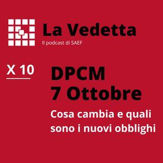 DPCM 7 Ottobre: cosa cambia e quali sono i nuovi obblighi.