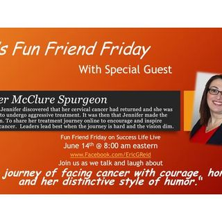 Special Episode with guest Jennifer McClureSpurgeon
