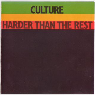 Culture - Harder Than The Rest - 1978