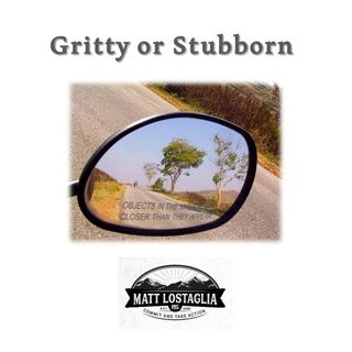 Gritty or Stubborn? How to Know