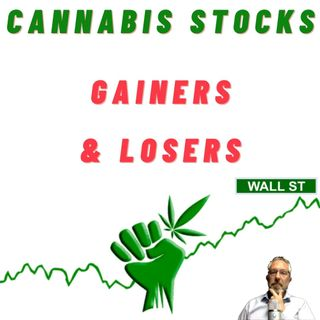 Cannabis Stock Weekly Gainers & Losers