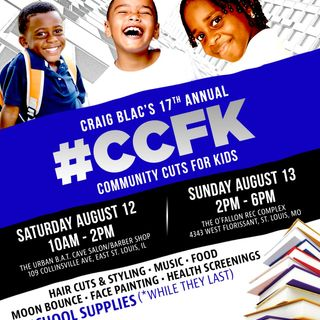 Craig Blac Community Cuts for Kids 2017 in its 17th Year w/ Jade Harrell