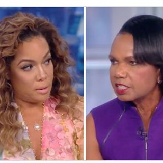 Condoleezza Rice wrong on the view