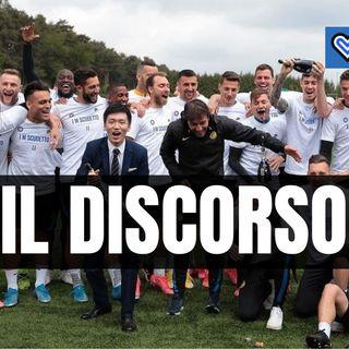 Inter, il discorso scudetto di Steven Zhang pronunciato alla squadra