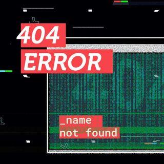 404 Error (name not found)