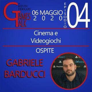 """Episodio #4 - """"Cinema e Videogiochi"""" con Gabriele Barducci"""