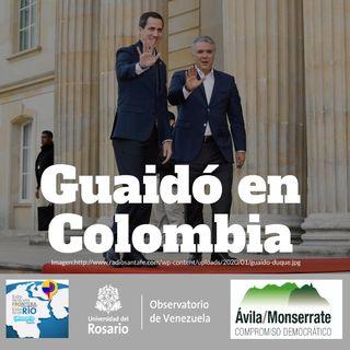 Guaidó en Colombia