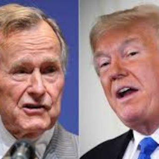 Bush and Trump