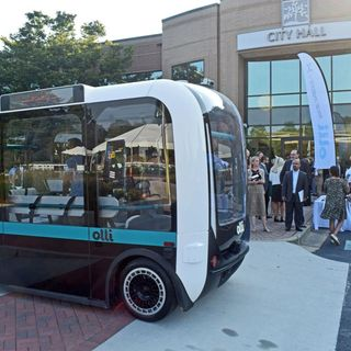 EP: 160 Self-Driving Car Makes Its' Debut In Peachtree Corners