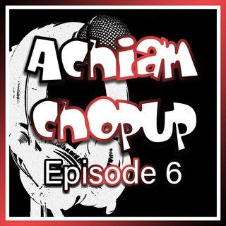 Achiam Chopup 6 (Ecclesiastes 1)