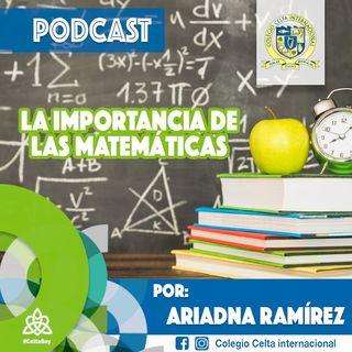 Podcast 8 La Importancia de las Matemáticas