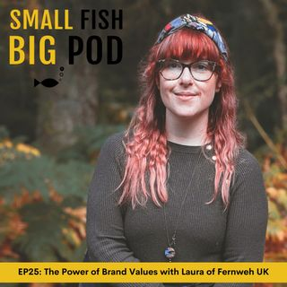 EP 25: The Power of Brand Values with Laura Sheriffs of Fernweh UK