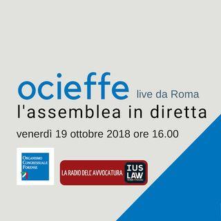 Assemblea OCF 19-20 ottobre 2018 – Venerdì 19 ottobre 2018