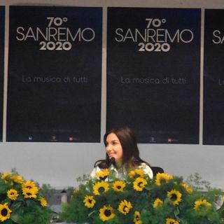 Sanremo 2020 - Intervista a Elettra Lamborghini