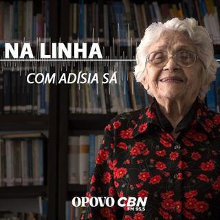 Jornalista Adísia Sá fala sobre o clima de Fortaleza.