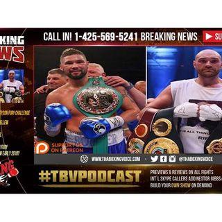 TONY BELLEW Accepts TYSON FURY Challenge, Tyson Fury vs Tony Bellew Early 2018?