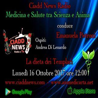 n 7°- Medicina e Salute tra Scienza e Anima presenta Emanuela Petroni - La dieta dei Templari