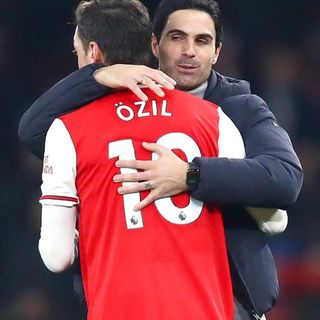 Arteta's Throwing Of Ozil Under The Bus Is Unforgivable